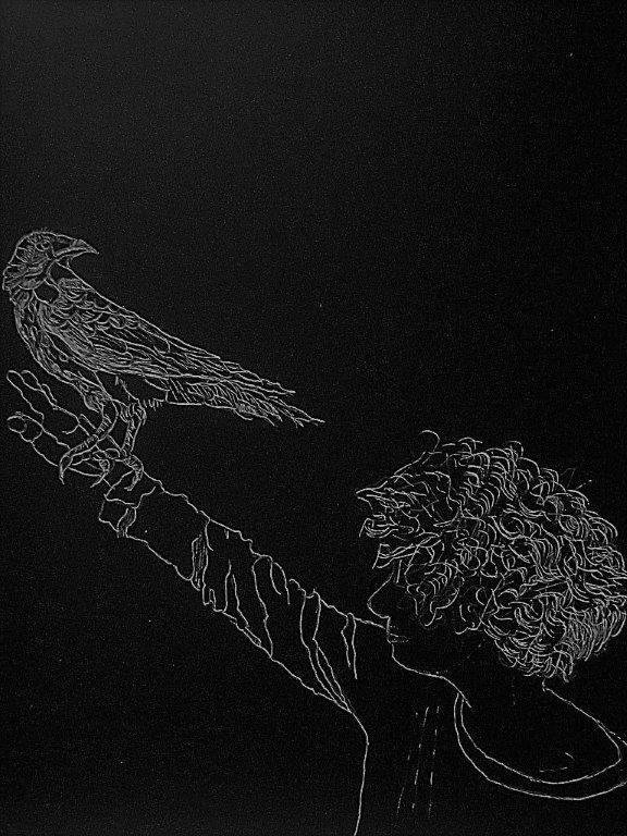 AlisonKeenan_Compromise_DrawingOnBlackScratchBoard__9x12in